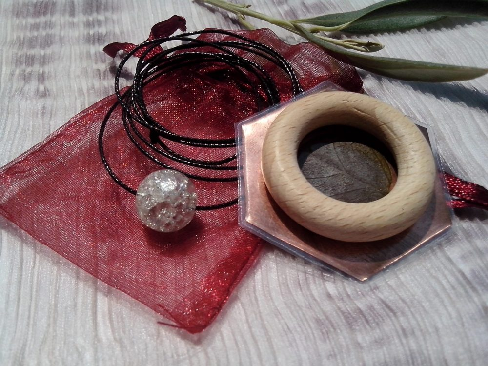 APHIENAI amulet | Energy protection | Outside Influences | Orgone Products | Necklace | 3